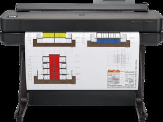 Designjet T650 Printer - 24in